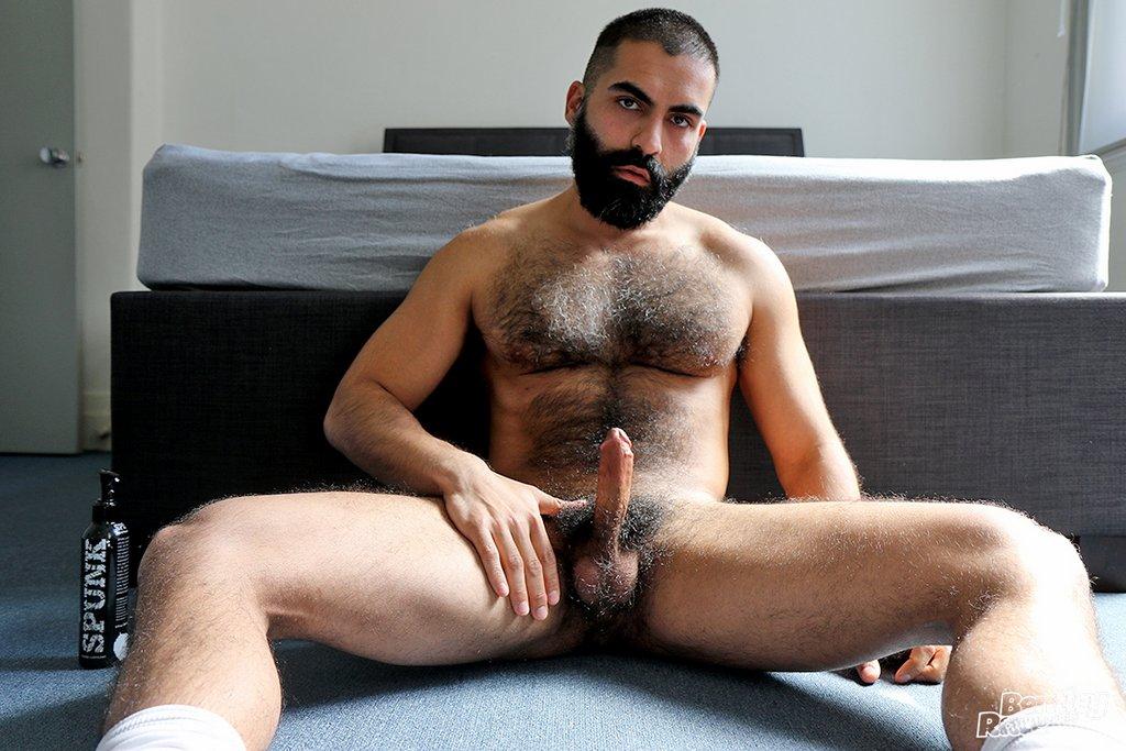 Hot Hairy Stud Bastien Passif Jerks Off 03