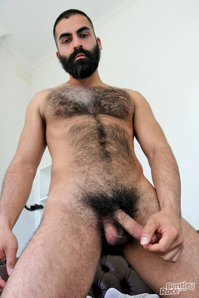 Hot Hairy Stud Bastien Passif Jerks Off 04