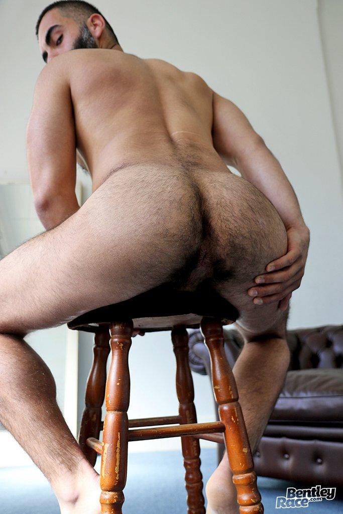 Hot Hairy Stud Bastien Passif Jerks Off 08