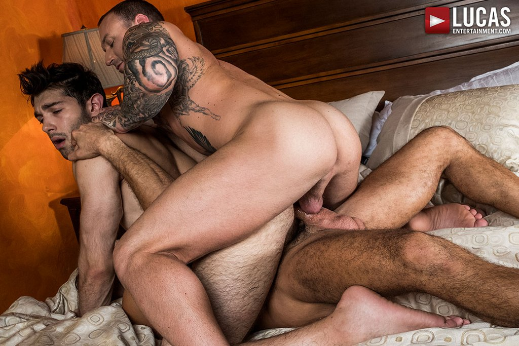 Dylan James and Manuel Skye Double Fuck Ben Batemen Raw 01
