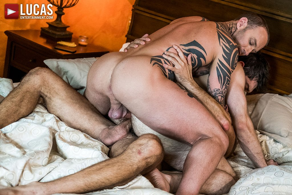 Dylan James and Manuel Skye Double Fuck Ben Batemen Raw 03