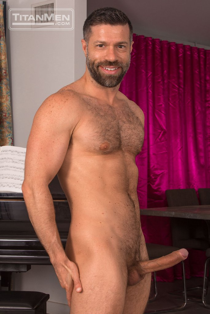 tristan jaxx fucks adam ramzi deep hairy guys in gay porn