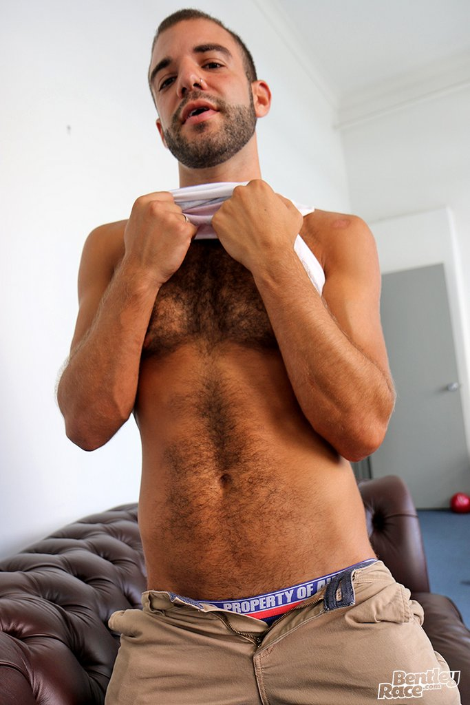 Hairy Guy Layton Charles Shows off 04
