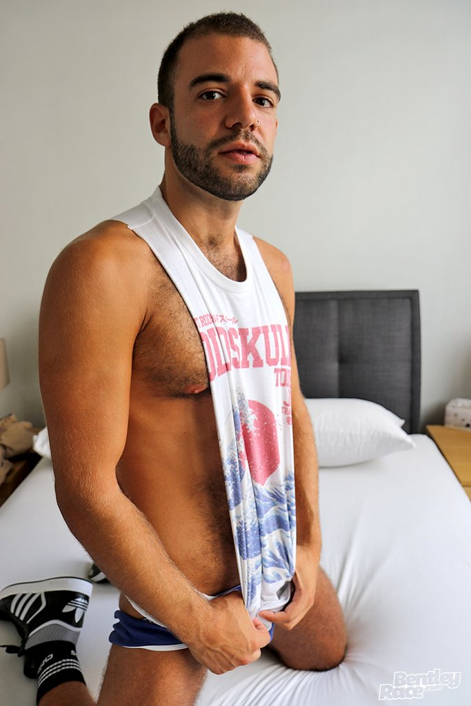 Hairy Guy Layton Charles Shows off 12