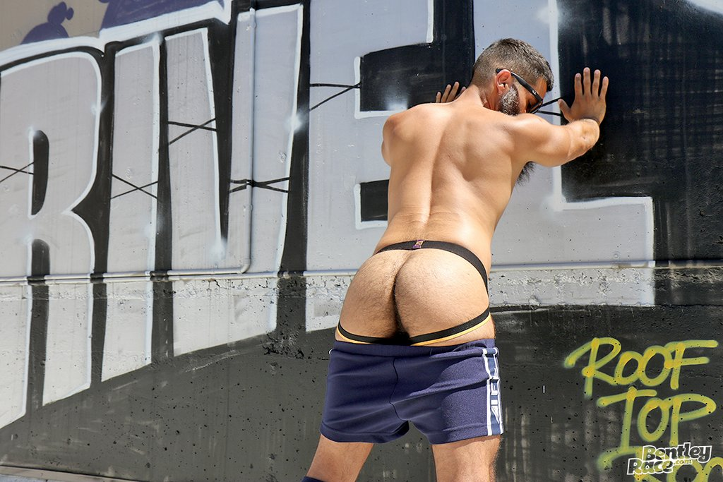 Hairy Stud Bastien Passif Shows Off 13