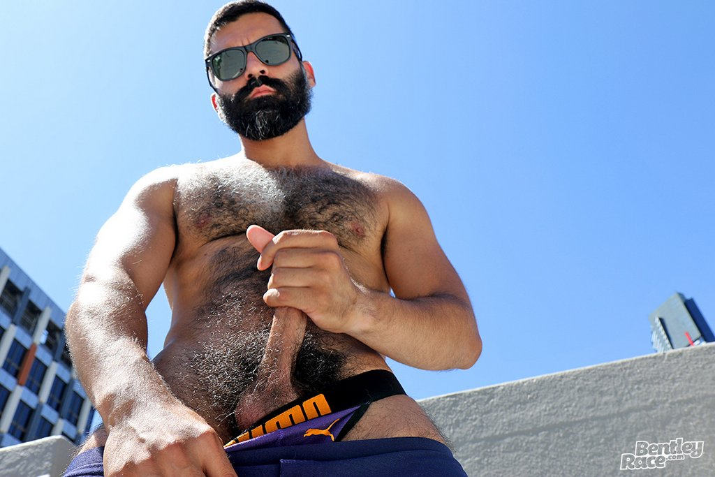 Hairy Stud Bastien Passif Shows Off 14