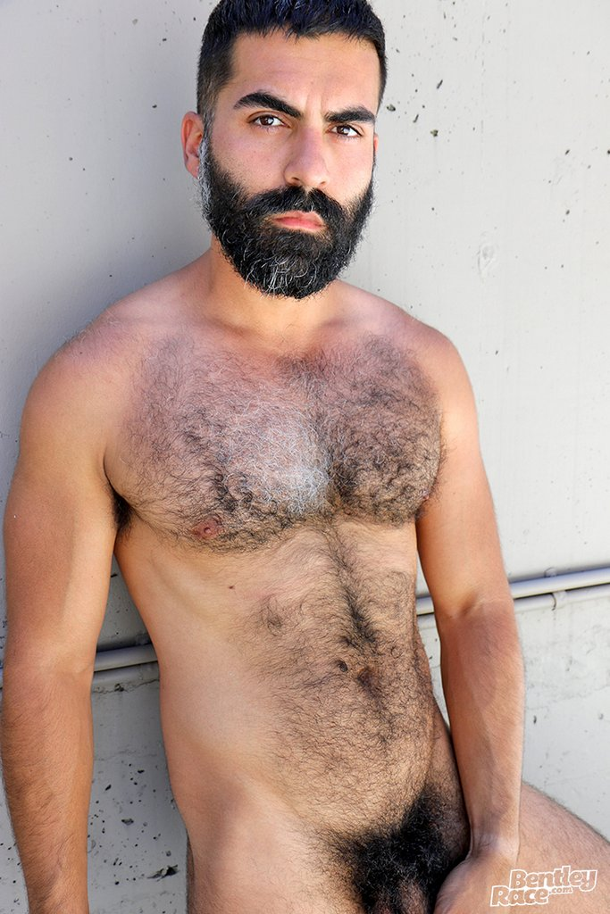 Hairy Stud Bastien Passif Shows Off 23