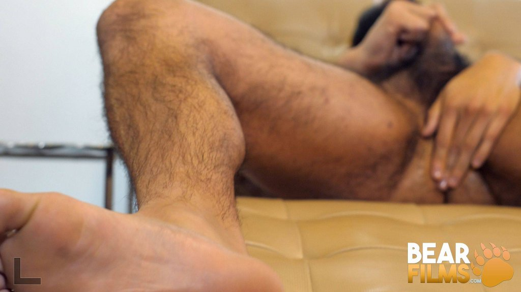 Hairy Guy Avi Strider Jerks off 12