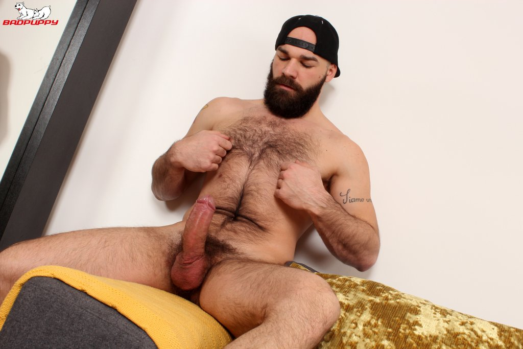 Hairy Hunk Max Duro Jerks off 06
