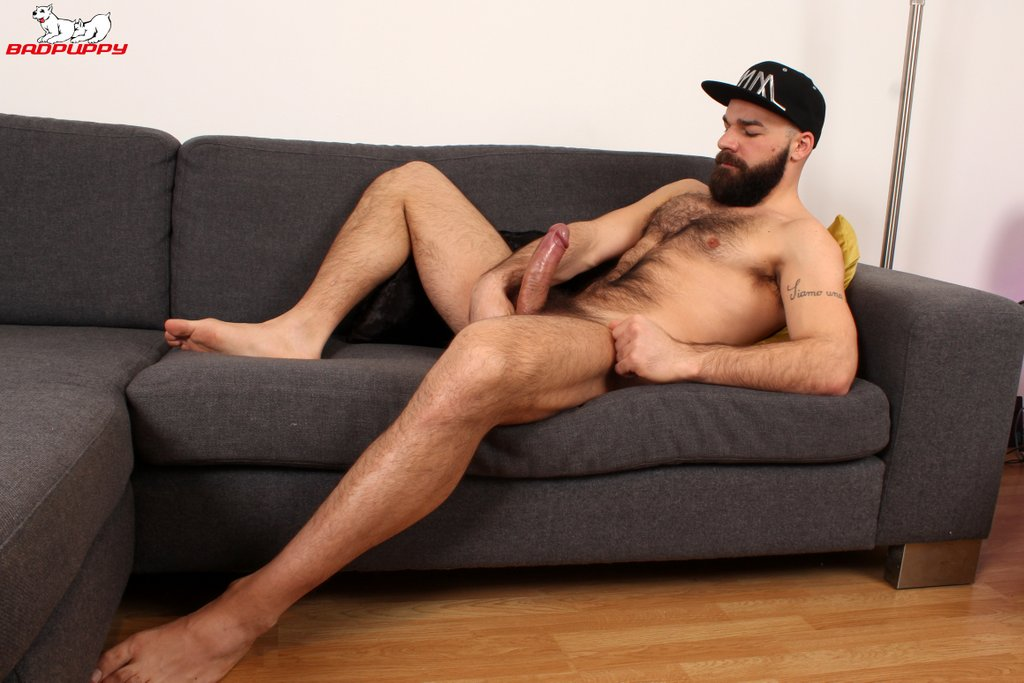 Hairy Hunk Max Duro Jerks off 09