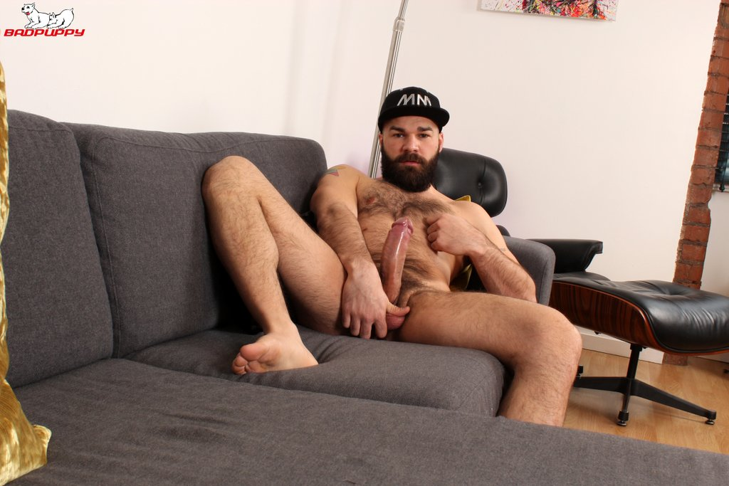Hairy Hunk Max Duro Jerks off 10