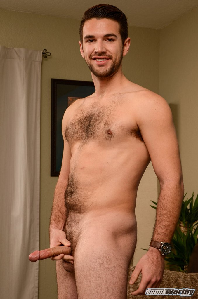 Hairy Guy Derek Jerks off 10