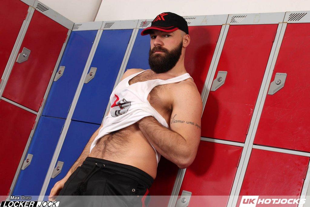 Locker Jock Max Duro Shows Off 02