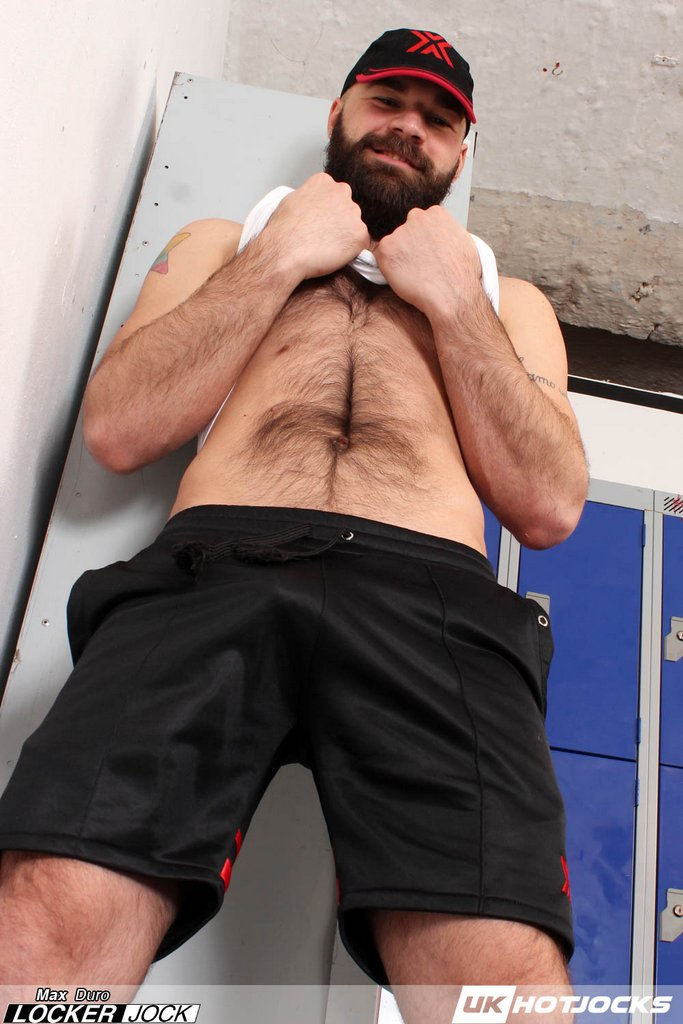 Locker Jock Max Duro Shows Off 07