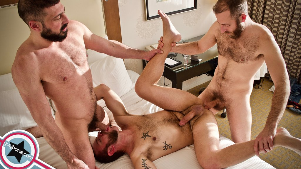 Joel Someone and Marco Napoli Fuck Parker Allen Raw 02