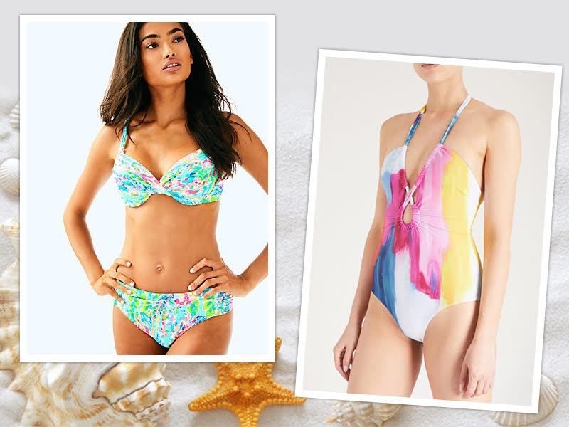 PLAYFUL SWIMSUITS TO WEAR POOLSIDE