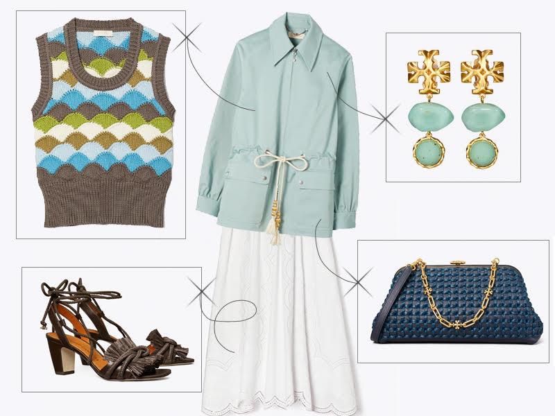 Tory-Burch-Midi-Skirts