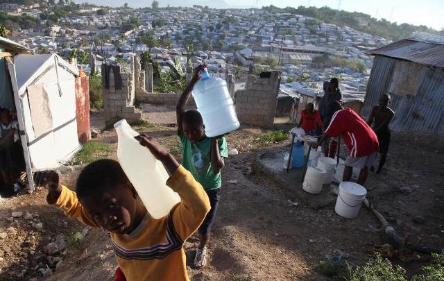 73 de la population haïtienne a accès à une source deau potable