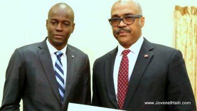 President Jovenel Moise Premier Ministre Jack Guy Lafontant
