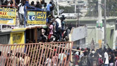 looting haiti