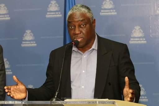 Lingenieur Herve Pierre Louis Directeur General de lEDH. Photo Ministere Communication