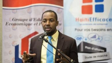 léconomiste Etzer Emile directeur de Haïti Efficace et président du Groupe dEducation Economique et Financière GEEF