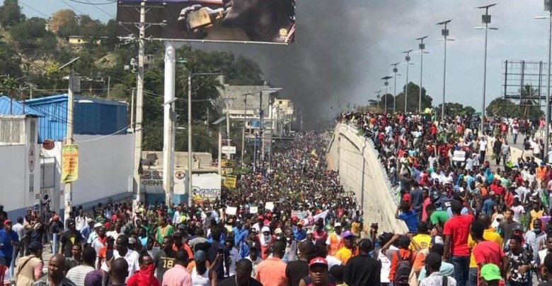 Large manifestation ce 7 février à Port au Prince