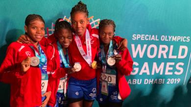 10 médailles pour Haïti à Abu Dhabi1