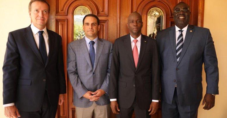 Des membres de la délégation de lOEA ont déjà rencontré le président Jovenel Moise sur le processus du dialogue inter haïtien