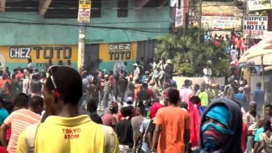 Nuevas protestas antigubernamentales en capital de Haití