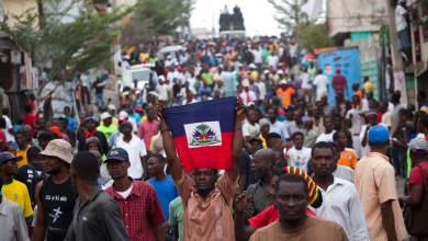 haiti election demonstrators ap img credit The Nation