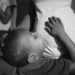 Evening. At the Zanmi Lasante Orphanage. Cange, Haiti. May, 2015 photo: Pradip Malde