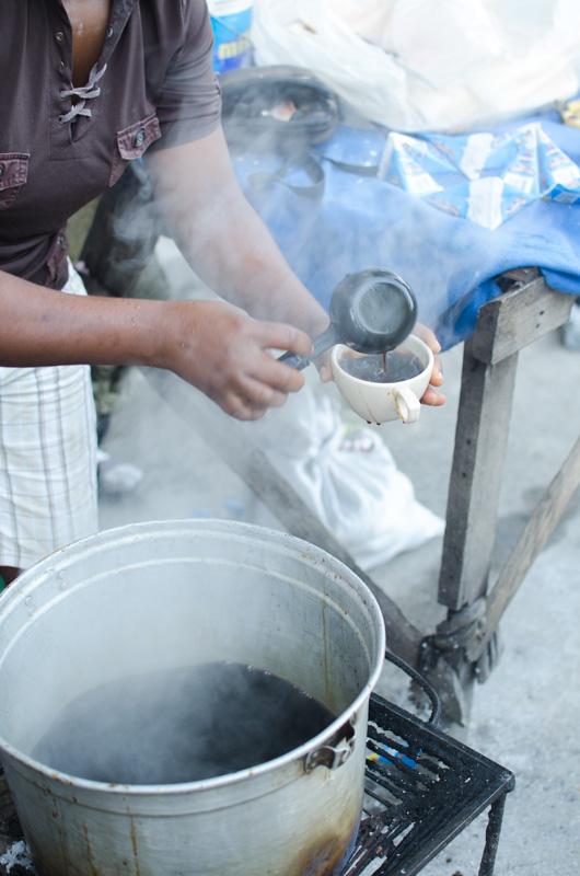Coffee in Cange Market, Haiti, June 2015 [photo by: Hunter Swenson]