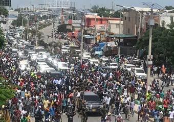 Haïti-Politique : Panique au Carrefour de l'aéroport, le Président Jovenel Moïse évacués