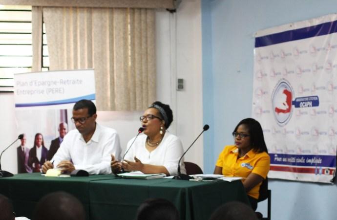 Haïti-Economie: OCAPH – Poursuite de la session d'information en faveur des entrepreneurs