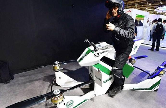 Des motos volantes à Dubaï !