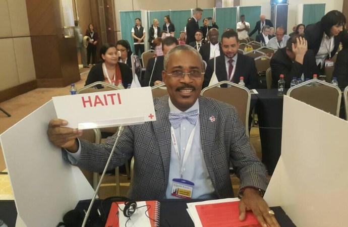 La Croix-Rouge Haïtienne au Conseil de Direction et à la Commission Jeunesse de la Fédération Internationale de la Croix-Rouge