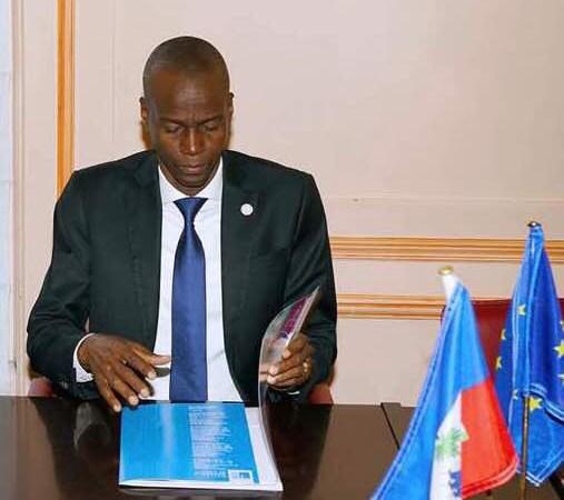 L'Office International de l'Eau à Paris reçoit le président Jovenel Moïse