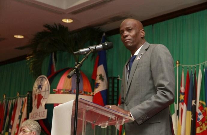 Jovenel Moïse expose sa politique à la 34ème assemblée ACP-UE