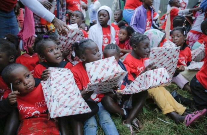 Haïti/ Social Quand la fondation Louis G. Lamothe enfile le costume de père Noël