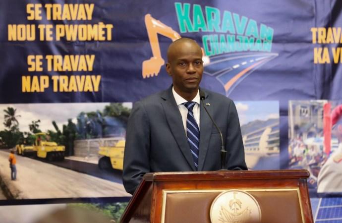 """Petrocaribe : """"il n'y aura pas de persécution politique sous mon administration"""", réitère Jovenel Moïse"""
