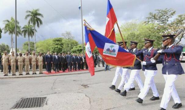 Jovenel Moïse rend hommage à Toussaint Louverture