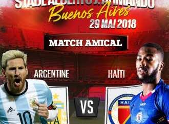 Haïti affrontera l'Argentine de Lionel Messi en amical !