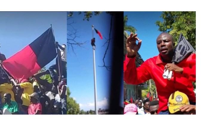 Profanation du drapeau : un membre de la Présidence demande à la justice de sévir contre Moïse Jean-Charles