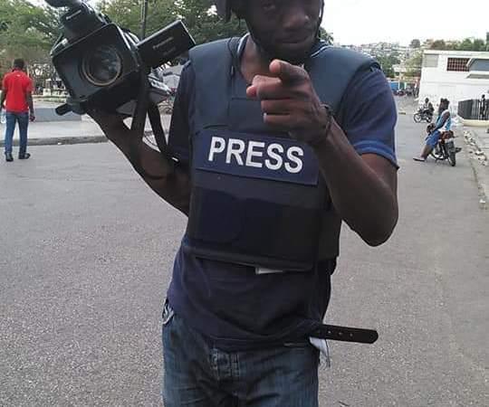 Manifestation Anti Jovenel : un journaliste blessé par balles