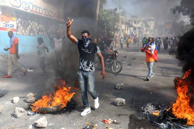 Manifestation anti-Jovenel: les manifestants prévoient de faire du «shopping», ce mardi