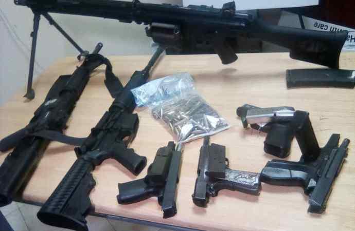 62 personnes arrêtées,15 armes à feu, 10 véhicules saisis
