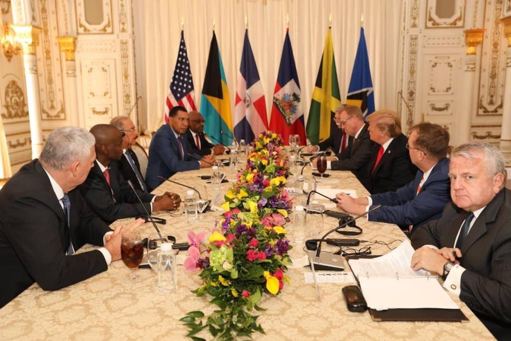 Sommet USA/Caraïbes:Jovenel Moïse expose ses projets à Donald Trump