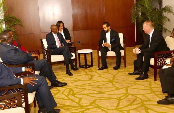 Au Panama, Jovenel Moïse vante les atouts d'Haïti en matière d'investissement