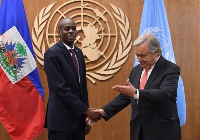Dialogue inter-haïtien: Jovenel Moïse appelle à l'aide le secrétaire général de l'ONU